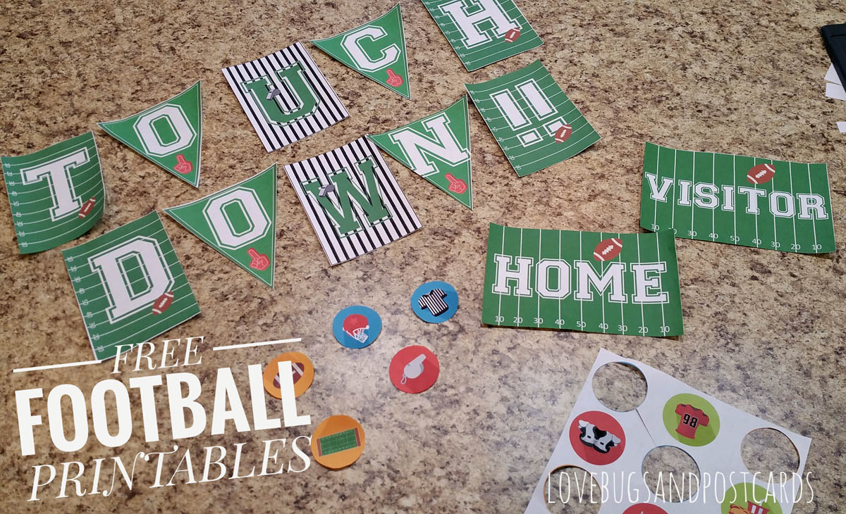 {Free} Printable Football Decorations