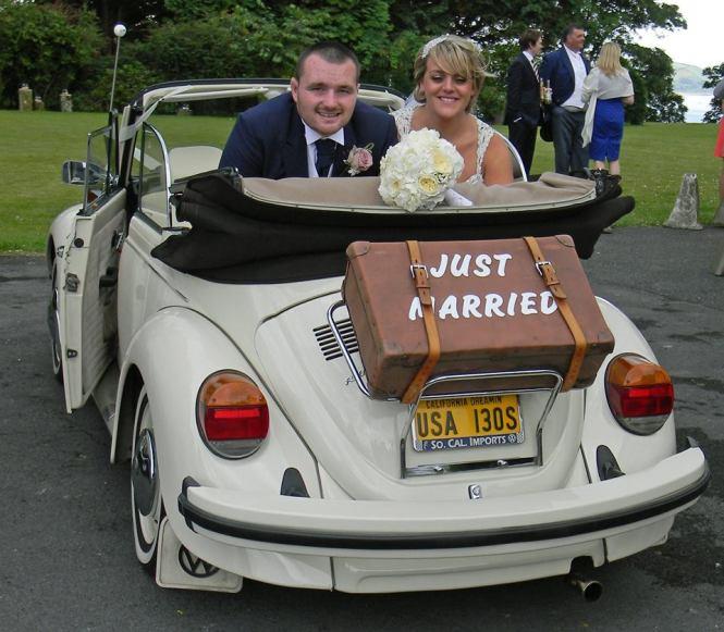 Vw Wedding Car Hire By Lovebug Weddings In South Wales