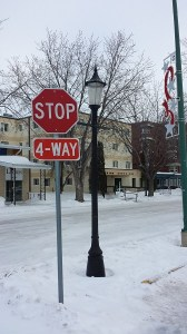 4 way stops