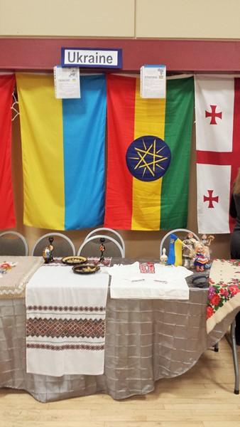 Украинский стол