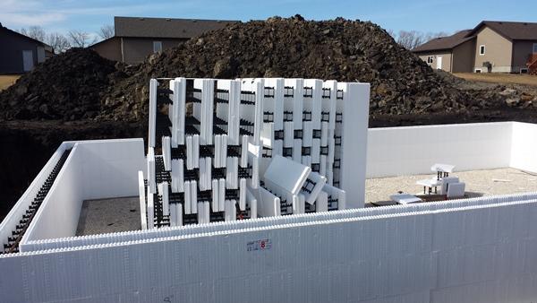 Пенопластовые блоки