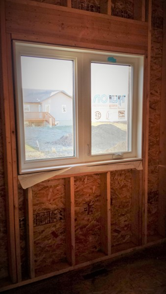 Окно в master bedroom