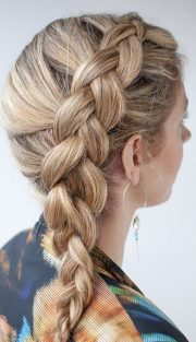 french braids hairstyles step