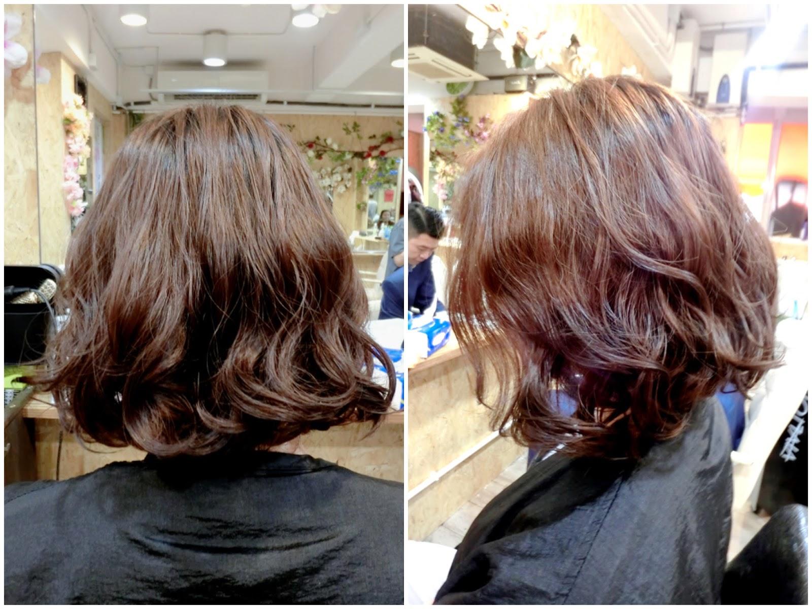 一星期變髮。又電又染再直療一樣無損髮質 – LoveCath 夏沫。Catherine