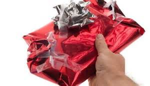 Wrapping Presents…YUCK!!!