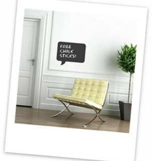 Chic Showcase: Contemporary Wall Stickers