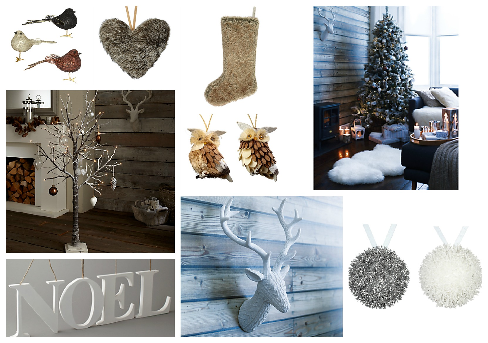 John Lewis Christmas Tree Themes.Moodboard Monday Christmas Decorations Love Chic Living