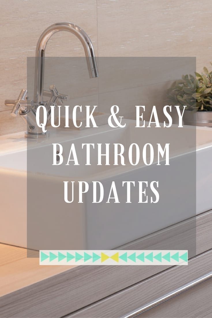 Home Makeovers Top Bathroom Quick Fixes  Love Chic Living