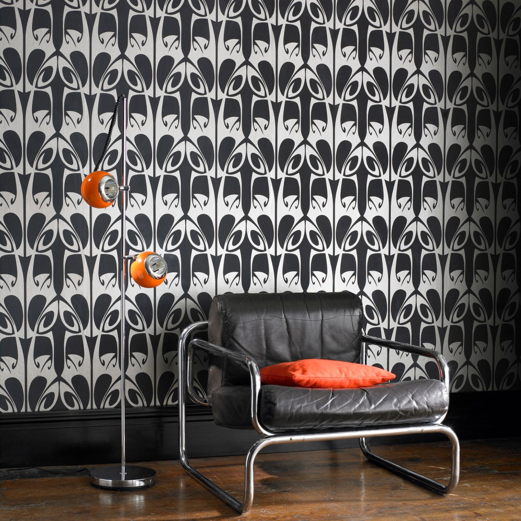 monochrome wallpaper trends