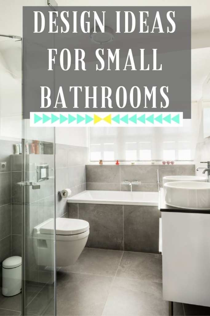 Click through for some top tips on how to design your ideal small bathroom