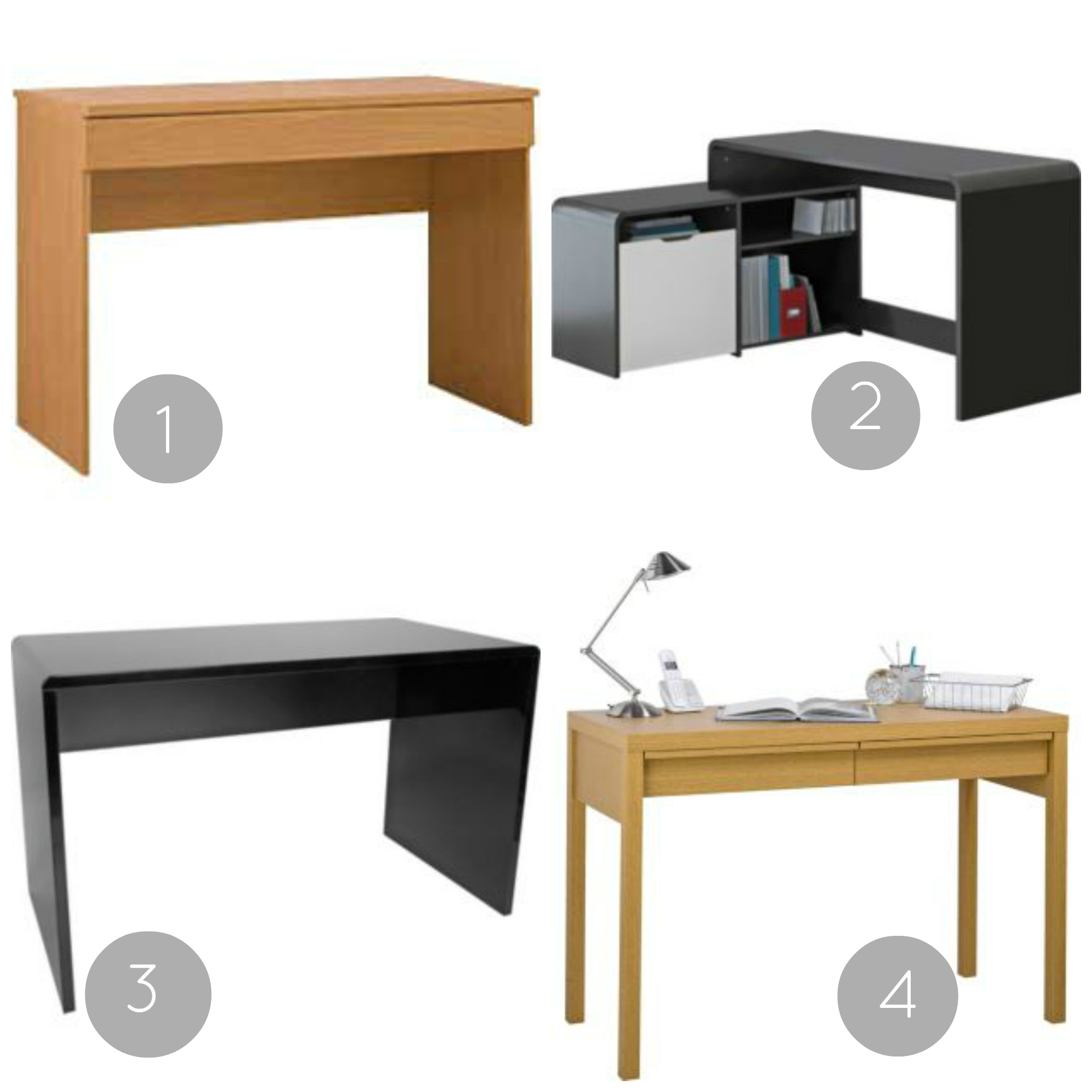 Home Office Makeover: The Hunt for a Desk - Love Chic Living