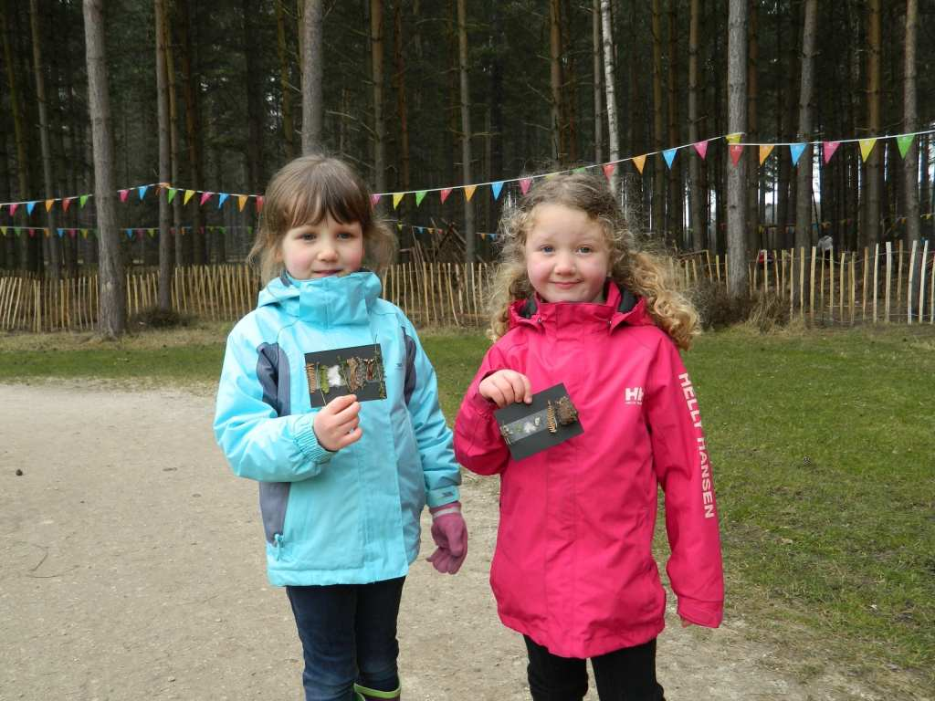 outdoor craft at Sherwood Pines