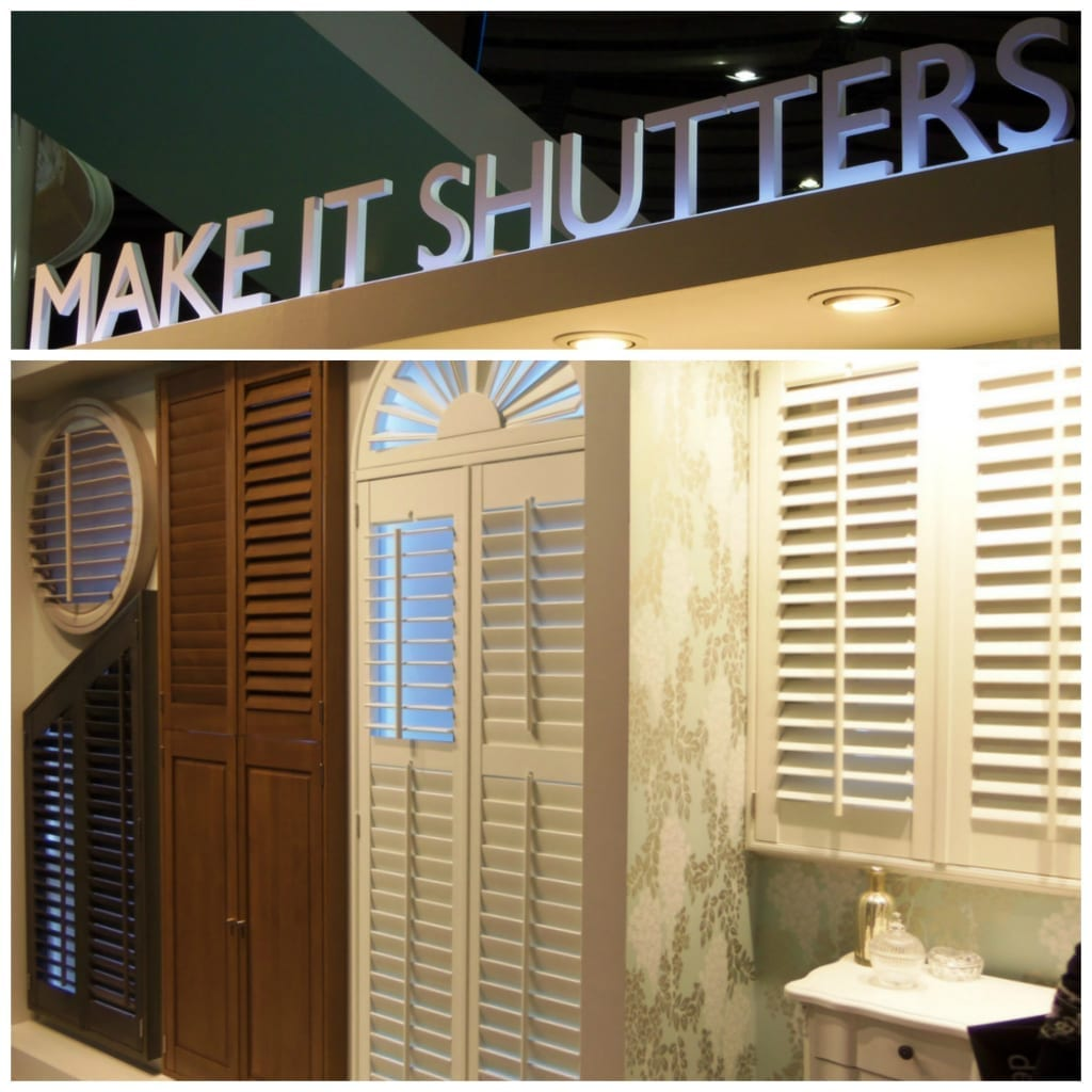 shutters in the home
