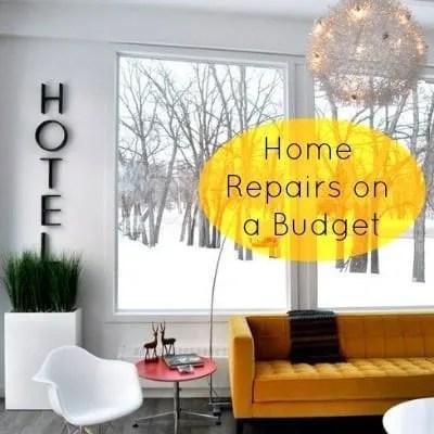 budget home repairs