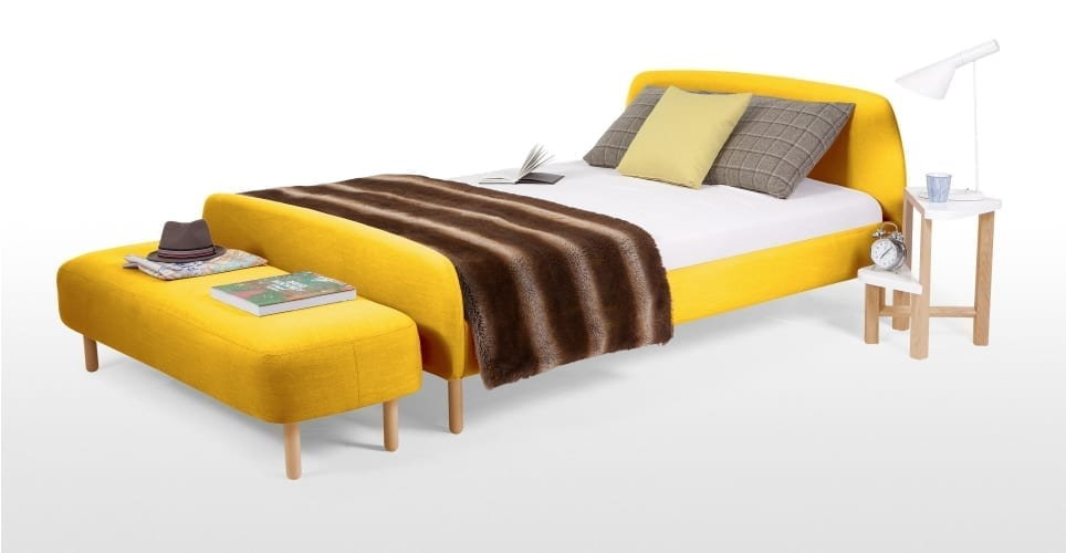 designer beds at made.com