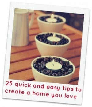 top tips for creating a lovely home