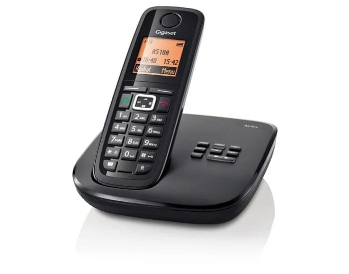 modern cordless phone