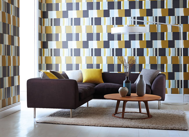 modern geometric wallpaper