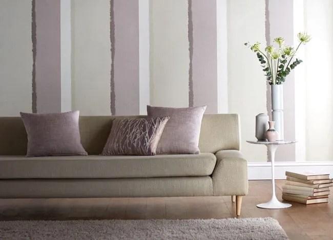 modern, striped wallpaper