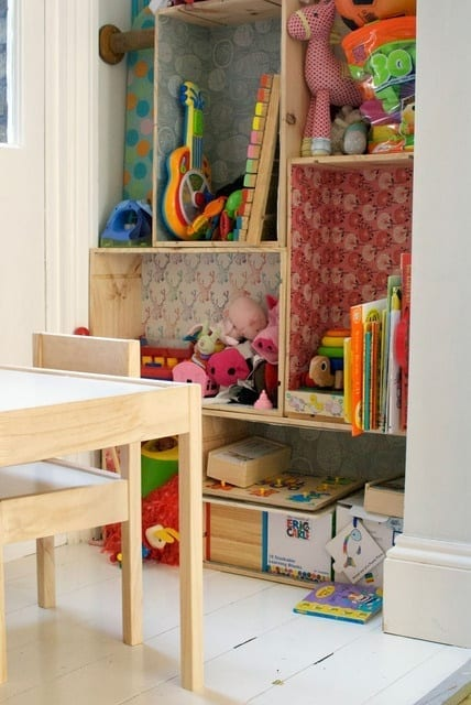 ideas for storing kids toys