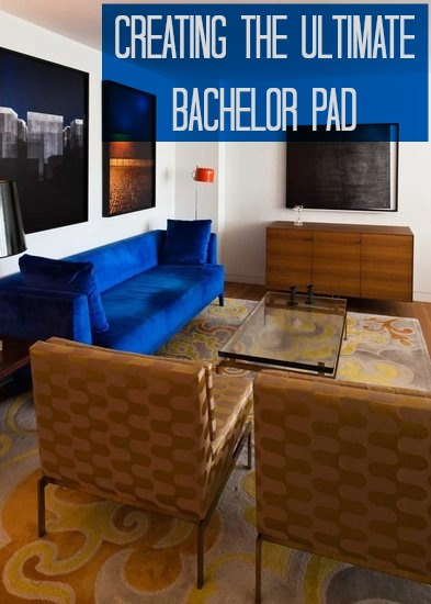 Creating the ultimate batchelor pad love chic living for Stylish bachelor pad