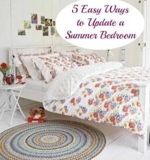 Top Tips: 5 Easy Ways to Update your Summer Bedroom