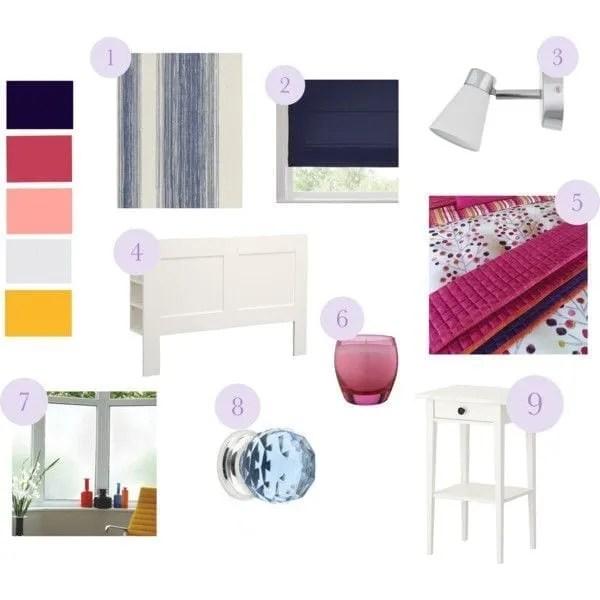 online interior design moodboard