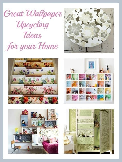Wallpaper upcycling ideas