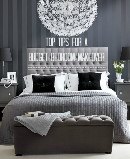 Decorate Your Bedroom For Under £48 In A Weekend Love Chic Living Enchanting How To Decorate Your Bedroom
