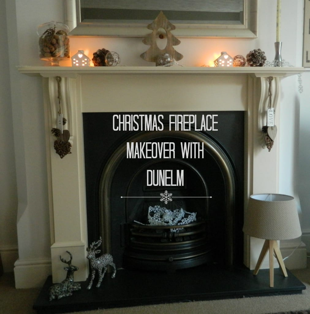 Christmas Home Fireplace Christmas Decorations With