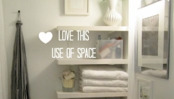 Big Ideas for Small Cloakrooms - Love Chic Living