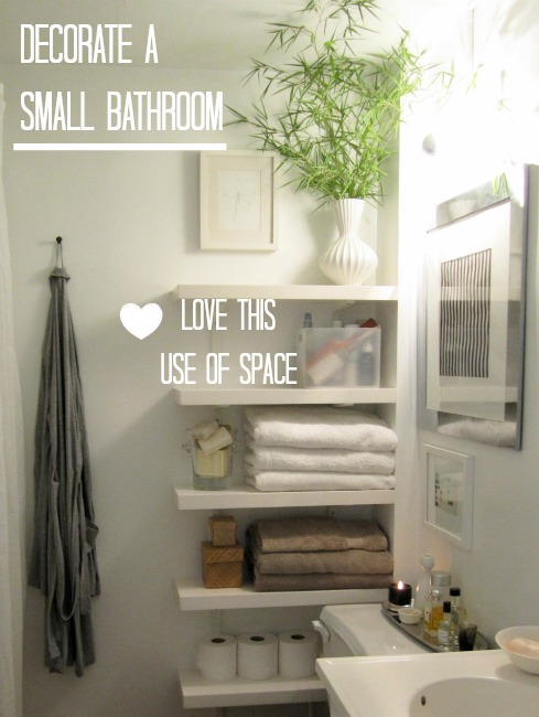 decorate a small downstairs toilet