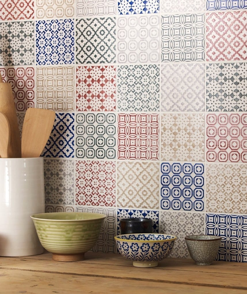 Top Tips How To Decorate With Tiles  Love Chic Living