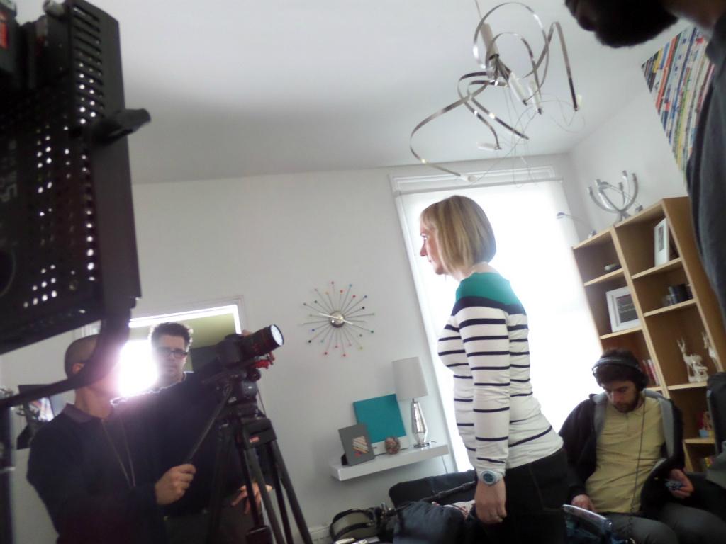 Selfie filming