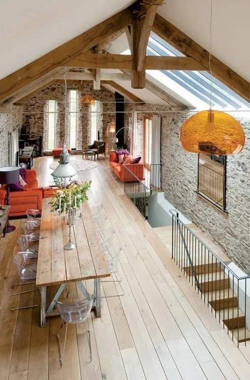 stunning attic