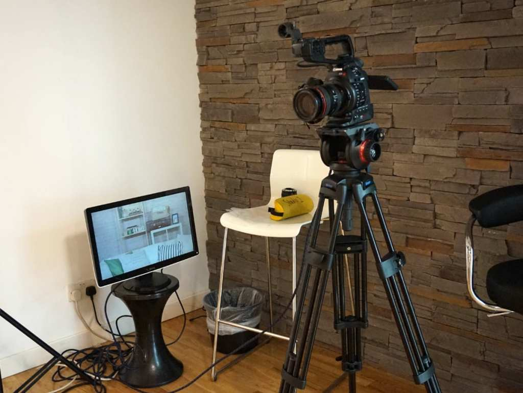 Filming with Videojug