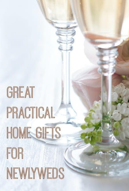 Ideas for practical home gifts for newlyweds