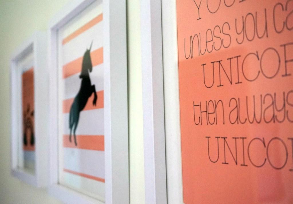 Uniorn wall art
