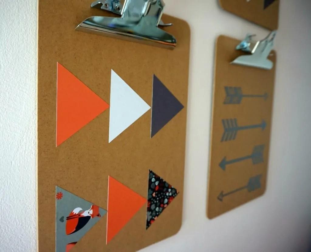 Clipboards scandi design