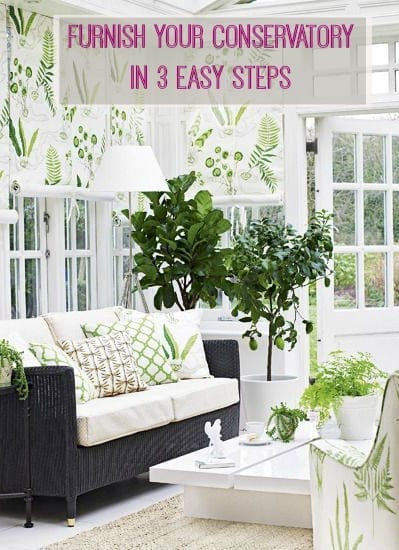 Furnish Your Conservatory