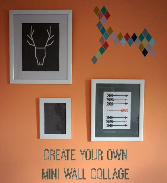 Create your own Scandi inspired mini wall collage