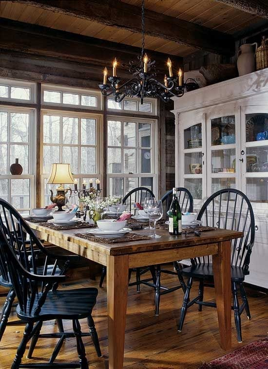 How To Create A Rustic Dining Space The Key Ingredients