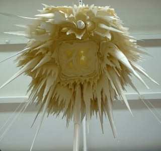LUSTRE at Lakeside: Paper Sculpture Installation by Andy Singleton