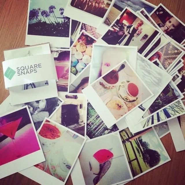 Instagram square snaps polaroids
