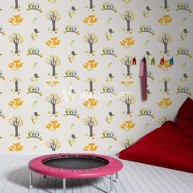 Esprit Kids Owl wallpaper