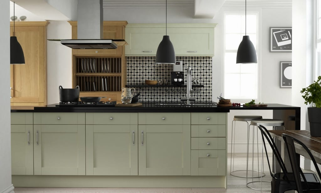 Shaker kitchen from Wren Living