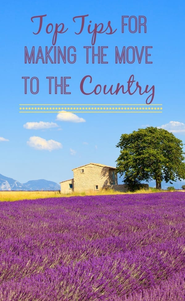 Top Tips for making the move to the Countryside