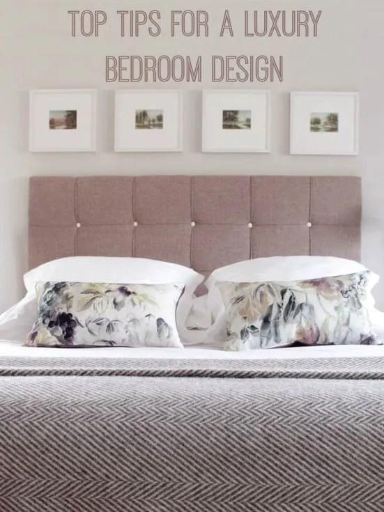 Top Tips for luxury bedroom design