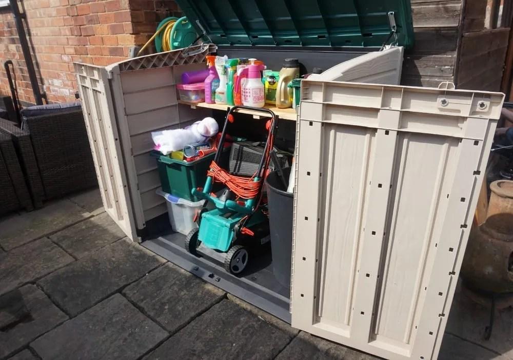 Keter garden storage