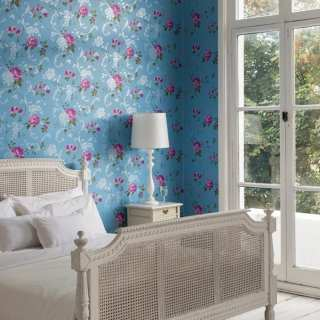 Wallpaper Wednesday: Northern Rose from Graham and Brown